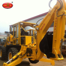 Kecil 0.4m3 Bucket Constriction Backhoe Loader