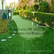 Gesunder Qualitäts-Landschaftsgestaltungs-künstlicher Gras-Hersteller hergestellt in China