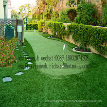 Fabricante de grama artificial paisagismo saudável de alta qualidade fabricado na China