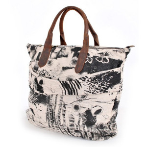Simple Casual canvas handbag for girl