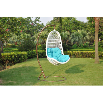 Hotellmöbler Aluminiumram Patio Rattan Swing