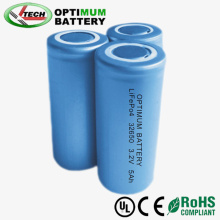 Highness Density Screw / Flat Type 32650 3.2V 5ah LiFePO4 Cellule de batterie