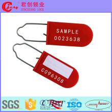 Sellos de seguridad de candado de plástico / alambre