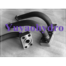 Schweiß-Hydraulik-Rohrverbinder für Baumaschinen-Rohrleitung