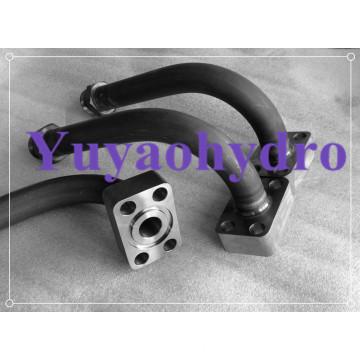 SAE Single Part Socket Weld Flange Block Adapter