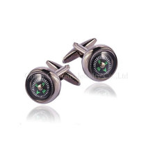 Men's Fashion Nobre Silver Cufflinks Presentes de casamento