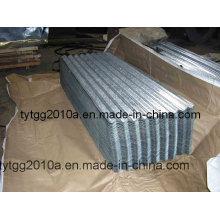 Chapa de acero galvanizado para corrugado