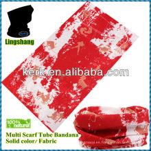 LSB174 Ningbo Lingshang Unisex ¡Multifunción al aire libre hecha de nueva impresión del pañuelo del diseño del poliester!