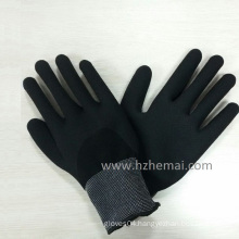 Fully Dipped Sandy Nitrile Gloves Gripper Safety Work Glove China