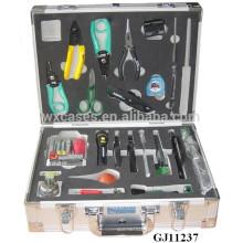 boîte à outils fort & portable en aluminium avec insert en mousse personnalisées à l'intérieur de ventes chaudes