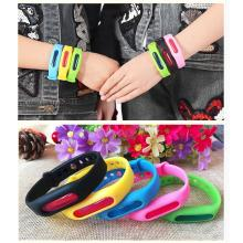 New Silicone Wristband Citronella Oil Outdoor Mosquito Repellent