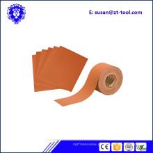 rolo de papel de areia abrasivo para hardware de móveis
