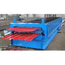 Automatische Roofing Sheet Roll Formmaschine