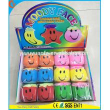 Heiße verkaufende nette Form-Neuheit-Entwurfs-schwermütige Gesichts-Ball-Spielzeug-Druck-Kugel