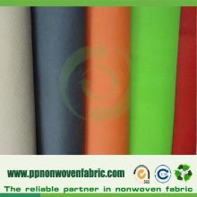 Tela no tejida 100% del polipropileno usada para los bolsos de compras
