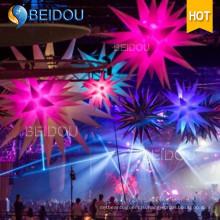 ПВХ этап этап свадьбы украшение медузы освещенные надувные звезды
