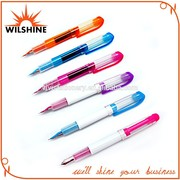 Nice Design Colorful Plastic Housing Fountain Pen (FP0020)