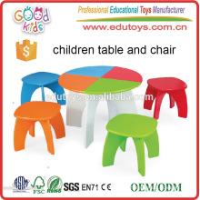 Muebles de jardín de infancia Niños Escritura Lectura Estudio Mesa de preescolar