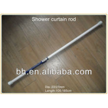 mini shower tension curtain rods