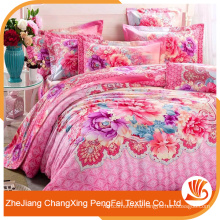 Practical home textile printed bed sheet fabric for household