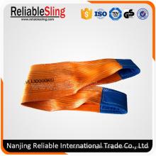 Hardware de aparejo de elevación de carga Eslinga de cinta plana