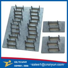 Lazos de acero galvanizado para casa de madera