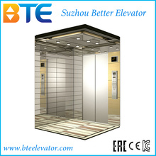 Kc Stable and Good Decoration Passenger Lift with Small Machine Room