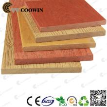 Folha composta plástica de madeira impermeável recicl