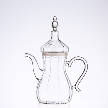Best Selling Glass Teapot for Turkey