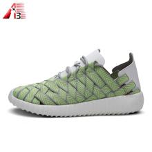 Chaussures tissées élastiques respirantes à la mode