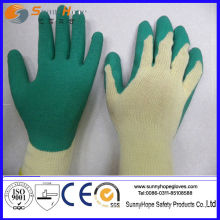 10 gauge cotton/polyester shell Latex Palm Coated Latex coated glove