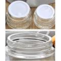 Aluminum Lid Glass Jar (NBG18)