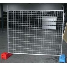 Clôture galvanisée chaude de DIP chaude avec le bas prix fait dans l'usine chinoise