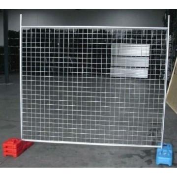 Heißer BAD galvanisierter vorübergehender Zaun mit niedrigem Preis hergestellt in der chinesischen Fabrik
