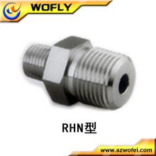 stainless steel reducing hex nipple connectors