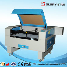 Máquina de corte y grabado láser para papel, tela y material plástico