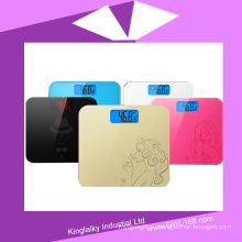 Индивидуальные электронные весы платформа для подарка (ЧД-011)