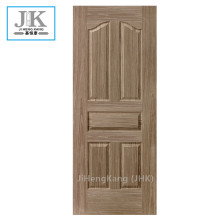 JHK-Embossed Design Materail Red Walnut Venner Door Skin