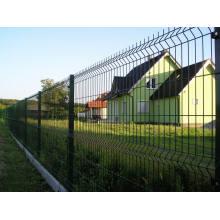 El polvo de alta calidad cubrió la cerca del acoplamiento de alambre de la seguridad