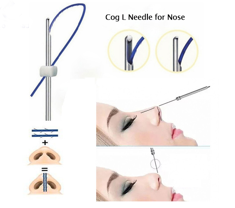 L Needle For Nose Lift