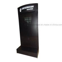 Gewerblicher Stahl Structur Display Regal Pegboard Stand Rack
