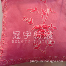 Suede Embroidery For Cushion Fabric (GYZD-011)