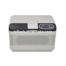 HF-AQ-12L(101) DC12-1-24V AC 220V car and home double use car refrigerator car cooler(CE certificate)