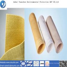 Nonwoven Nadel gelocht Filter Wasser und Ölabweisend P84 Staub Filterbeutel für Industrie