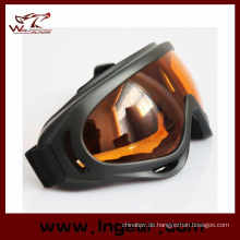 Transparente Farbe Paintball-Schutzbrillen X400 Schutzbrillen Skibrillen