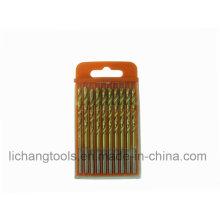 Спиральные сверла HSS с покрытием из оловянного покрытия, сертифицированные по ISO 9002