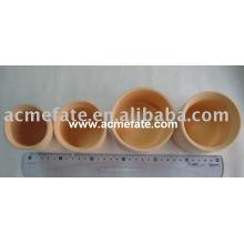 Натуральная одноразовая бамбуковая посуда