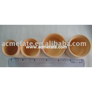 Tasse de cuisine en bambou jetable