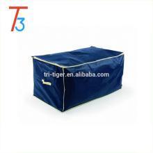 Grand sac de rangement en tissu avec fermeture à glissière