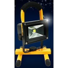 Nouveau 10W Rechargeable & Portable LED Outdoor Solar Flood Camping Light
